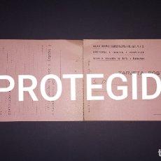 Sellos: TARJETA POSTAL DOBLE DE FRENTES Y HOSPITALES 1938. Lote 166339314