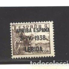 Sellos: LERIDA 1938 - E.L. PATRIOTICO - NUEVO. Lote 294969218