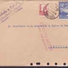Sellos: F5-8 -CARTA SANTA CRUZ DE TENERIFE 1937. , LOCAL Y CENSURA . Lote 166576938