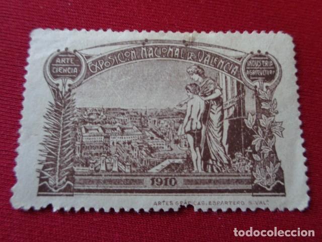 VALENCIA. EXPOSICION NACIONAL DE VALENCIA. 1910. (Sellos - España - Guerra Civil - Beneficencia)