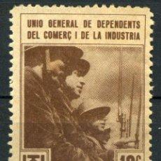 Sellos: ESPAÑA. GUERRA CIVIL. UGT. EDIFIL Nº819. Lote 166784386