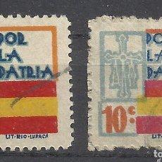 Sellos: 7425C-SELLOS LOCALES 1936 ERROR VARIEDADES,SELLOS ESPAÑA GUERRA CIVIL ASTURIAS OVIEDO LETRAS TAMAÑO . Lote 167170064