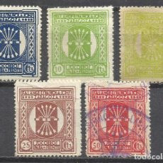 Sellos: 8270- SELLOS LOCALES ESPAÑA GUERRA CIVIL FALANGE ESPAÑOLA JONS PARA EL FRENTE,ZARAGOZA,1937.JUNTA O. Lote 168197204