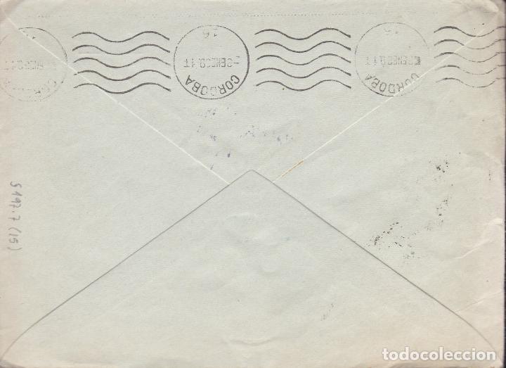 Sellos: CM2-18- Guerra Civil. Carta SORIA 1939. TUBERCULOSOS y Censura - Foto 2 - 168204776