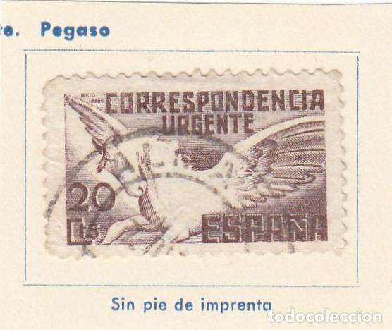ESPAÑA. SELLO DE 1938. USADO CON FIJASELLO. (Sellos - España - Guerra Civil - De 1.936 a 1.939 - Usados)