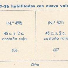 Sellos: ESPAÑA. 2 SELLOS DE 1938. USADOS CON FIJASELLOS.. Lote 168221908