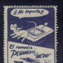 Sellos: S-4021- EL REMEDIO PEGAMENTO IMEDIO. Lote 168269460
