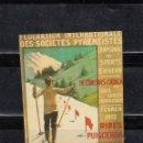 Sellos: FEDERATION INTERNACIONALE DE SOCIETES PIRENEISTE. IV CONCURS CATALÁ. Lote 168554072