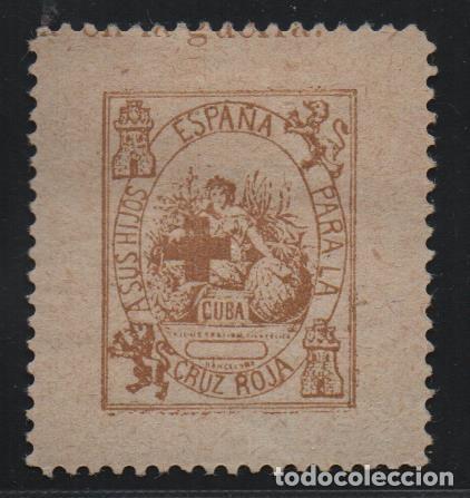 CRUZ ROJA, A SUS HIJOS.. VER FOTO (Sellos - España - Guerra Civil - De 1.936 a 1.939 - Usados)