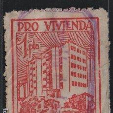 Sellos: BARCELONA, 1 PTA, -PRO VIVIENDA- VER FOTO. Lote 169086580