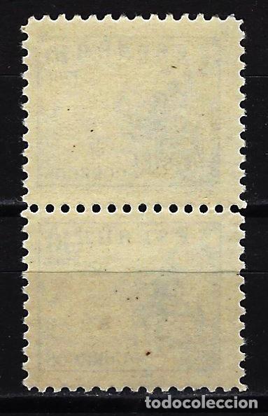 Sellos: ESPAÑA 1937-1940 CID 10 PTAS. - EDIFIL 830 - MNH** NUEVOS SIN FIJASELLOS CON GOMA - BLOQUE DE 2 - Foto 2 - 169123108