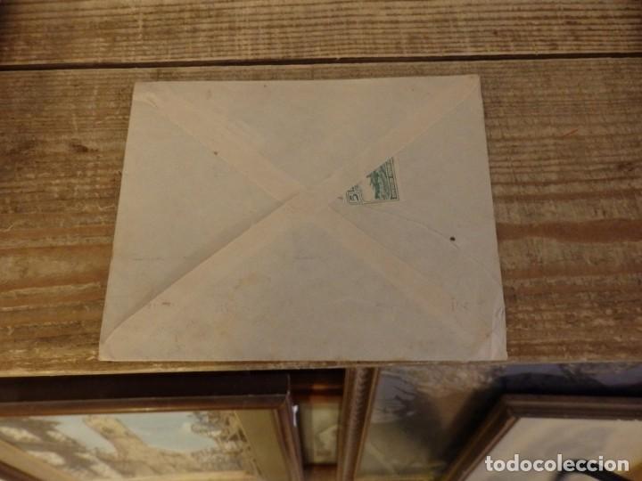 Sellos: CENSURA MILITAR Nº 1 DE JIMENA DE LA FRONTERA (CADIZ) EN SOBRE CIRCULADO EN 1938 - Foto 2 - 169178428