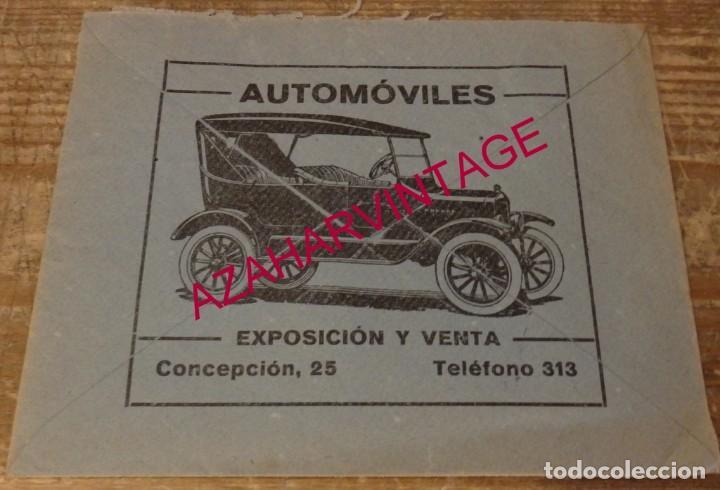 Sellos: CACERES, 1938, SOBRE COMERCIAL FORD CIRCULADO A SEVILLA, CENSURA MILITAR, VER IMAGENES - Foto 2 - 169581460