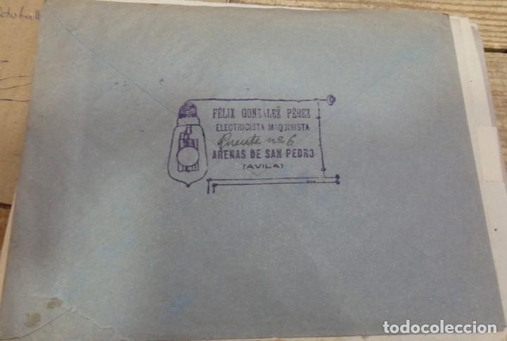 Sellos: ARENAS DE SAN PEDRO, AVILA,1937, SOBRE CIRCULADO A SEVILLA, PENDIENTE CENSURA TALAVERA DE LA REINA - Foto 2 - 169631560