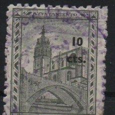 Sellos: BILBAO, 10 CTS, SELLO MUNICIPAL, VER FOTO. Lote 169827080