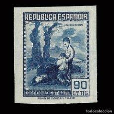Sellos: SELLOS ESPAÑA.1939. CORREO DE CAMPAÑA. 90C. AZUL. SIN DENTAR NUEVO*. EDIF. Nº NE 54. Lote 169851852