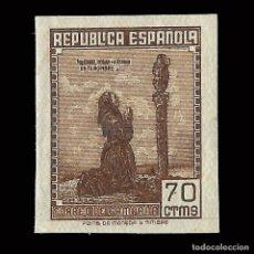 Sellos: SELLOS ESPAÑA.1939. CORREO DE CAMPAÑA. 70C. CASTAÑO. SIN DENTAR NUEVO*. EDIF. Nº NE 52. Lote 169852216