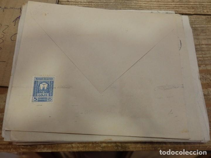 Sellos: SOBRE CIRCULADO DESDE LOJA A SEVILLA, 1938, CENSURA MILITAR - Foto 2 - 170022864