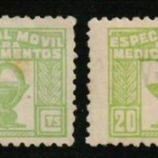 Sellos: ESPECIAL MÓVIL MEDICAMENTOS 1937. Lote 170146701