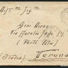 Sellos: GUERRA CIVIL, CARTA, EJÉRCITO ITALIANO EN ESPAÑA, UFFº POSTALE SPECIALE, 1938. Lote 170388232