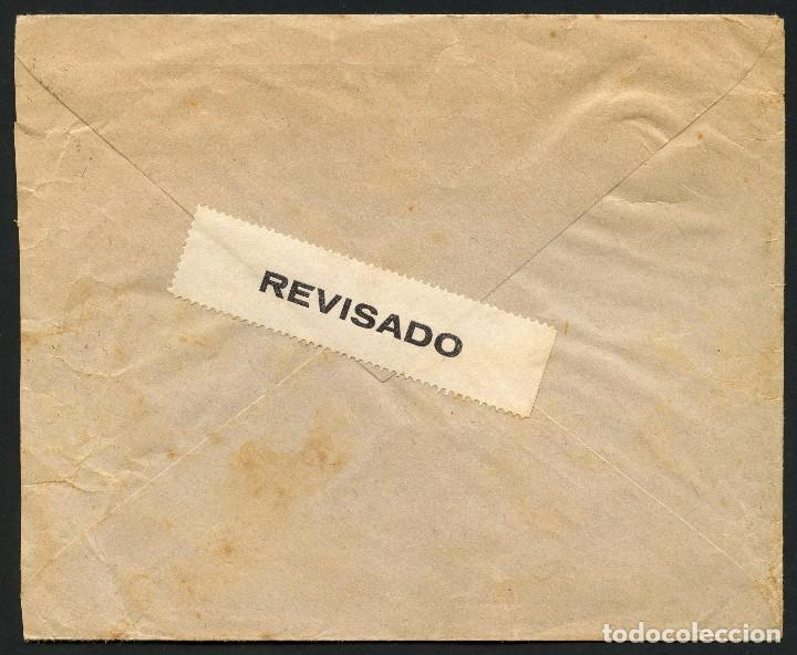 Sellos: GUERRA CIVIL, VIÑETA, SOBRE, PRO MILICIAS ANTIFACISTAS, 1936, MAHON, MENORCA - Foto 3 - 170975719