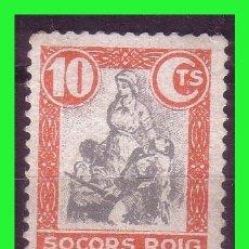 Sellos: SOCORRO ROJO CATALUÑA, VIÑETAS REPUBLICANAS, GUILLAMON Nº 1588 * *. Lote 171061045