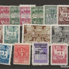 Sellos: R61/ BARCELONA, LOTE DE SELLOS NUEVOS **/*. Lote 171183445