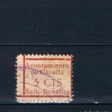 Selos: GUERRA CIVIL SELLO LOCAL AYUNTAMIENTO DE CAZALLA SEVILLA (º) LOT010. Lote 171445830