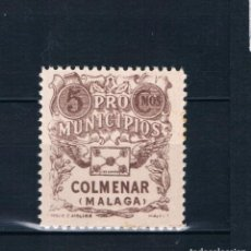 Selos: GUERRA CIVIL SELLO LOCAL PRO MUNICIPIOS COLMENAR MALAGA ** LOT010. Lote 171445937