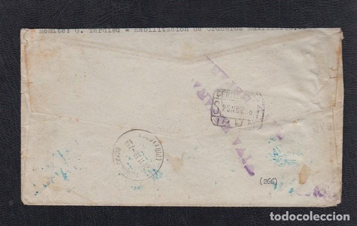 Sellos: 1938.- CEUTA A MONTRICHARD (FRANCIA) - Foto 2 - 171491619
