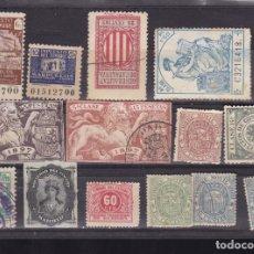Sellos: ST- LOTE FISCALES, BENÉFICOS Y SIMILARES. VER 6 IMAGENES . Lote 171646592