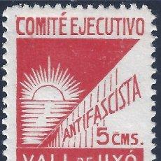 Sellos: VALL DE UXÓ. COMITÉ EJECUTIVO ANTIFASCISTA. ESCASO. MH *. Lote 172480894