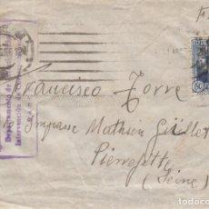 Sellos: GUERRA CIVIL - SOBRE AGOSTO DE 1936 CON MATASELLOS DE COMITE MILICIAS ANTIFASCISTAS DE BARCELONA . Lote 172833942