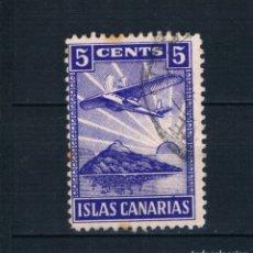 Sellos: GUERRA CIVIL. SELLO LOCAL. ISLAS CANARIAS 5 CENTS º LOT010. Lote 173141012