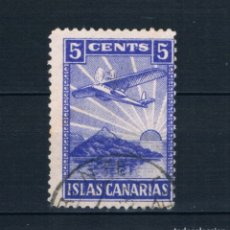 Sellos: GUERRA CIVIL. SELLO LOCAL. ISLAS CANARIAS 5 CENTS º LOT010. Lote 173141033