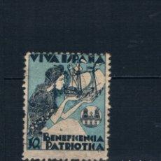 Timbres: GUERRA CIVIL. VIVA ESPAÑA PONTEVEDRA BENEFICENCIA PATRIOTICA * LOT010. Lote 173492988