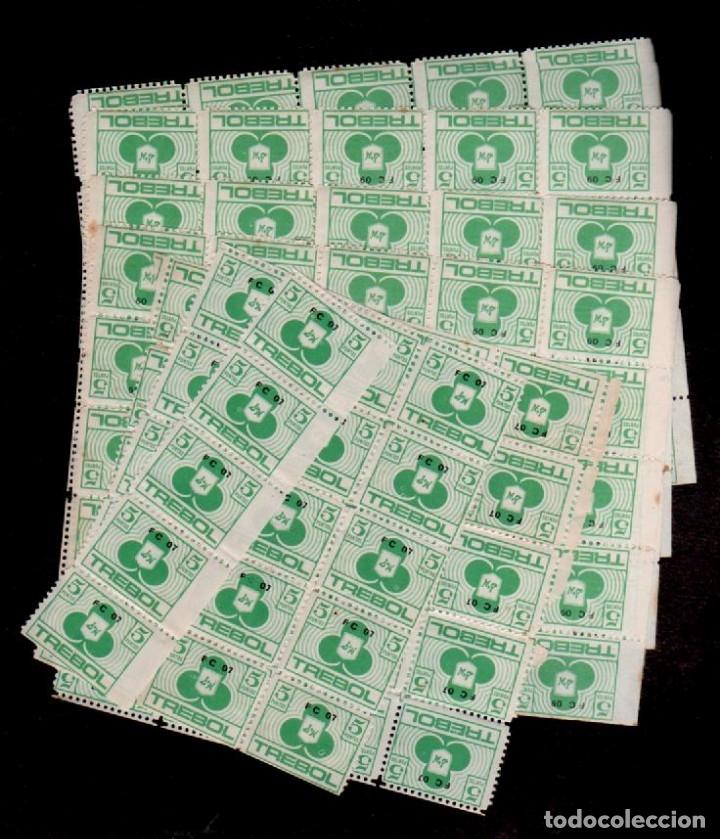 Sellos: C15-5 ALMACENES CAPITOLIO Carnet COMPLETO con 140 cupones de CINCO PUNTOS Color VERDE sueltos.. - Foto 3 - 173617479