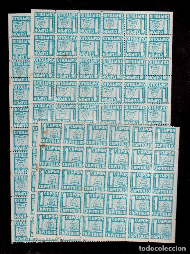 Sellos: C15-5 ALMACENES CAPITOLIO Carnet con 150 cupones de UN PUNTO Color AZUL sueltos.. - Foto 3 - 173617709