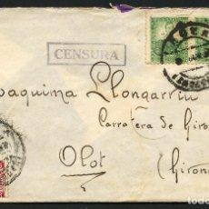 Sellos: GUERRA CIVIL, SOBRE, EJERCITO REPUBLICANO, 25 DIV., 117 BRIGADA MIXTA, LÉCERA. Lote 173857973