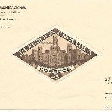 Sellos: ESPAÑA.PALACIO DE COMUNICACIONES DE MADRID.GUERRA CIVIL.BEENEFICENCIA.EDIFIL Nº 17.NUEVA SIN FIJASEL. Lote 174105630
