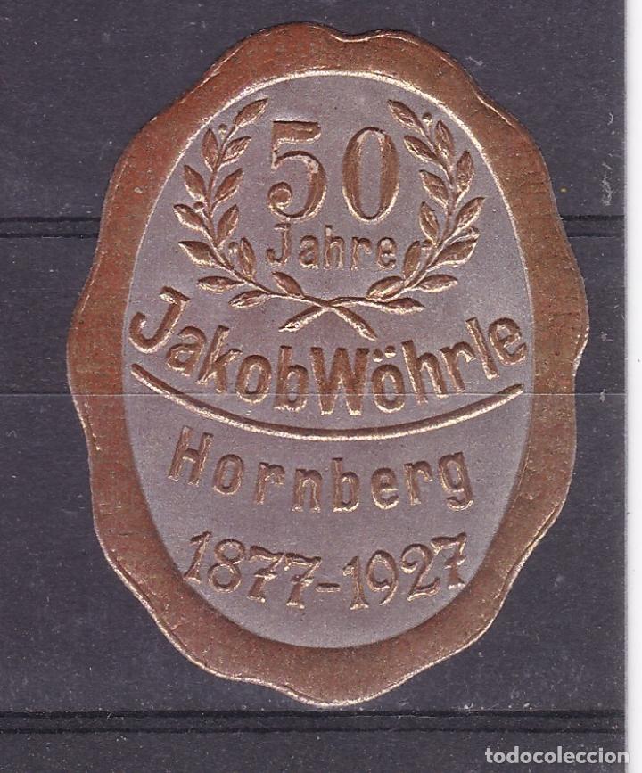 KK7-VIÑETA 50 AÑOS JAKOB WÖHRLE 1927 * CON FIJASELLOS (Sellos - España - Guerra Civil - Viñetas - Nuevos)