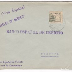 Sellos: F28-3-GUERRA CIVIL. CARTA CONSTANTINA SEVILLA 1937. LOCAL Y CENSURA NO RESEÑADA HELLER. Lote 174269412