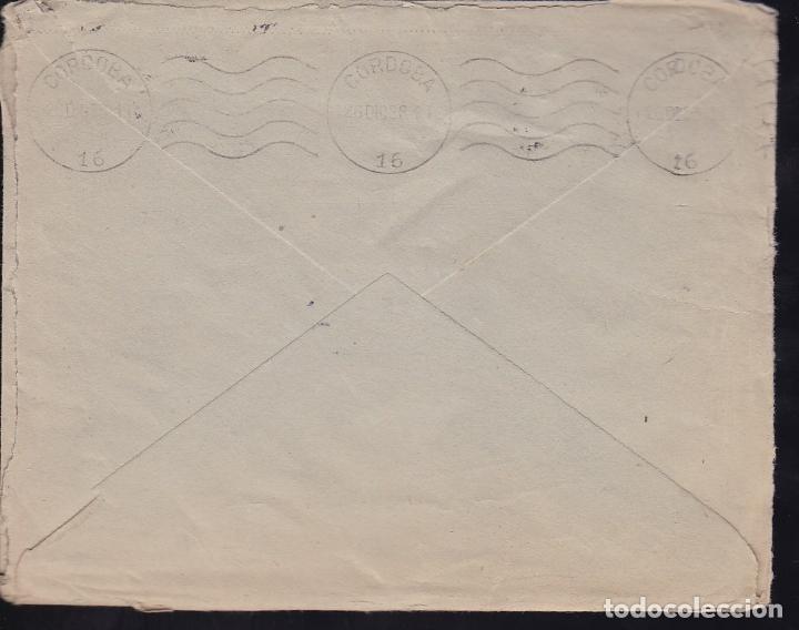 Sellos: HP1-34-Guerra Civil. Carta SAN SEBASTIAN 1938. Censura y TUBERCULOSOS. LISTA Córdoba - Foto 2 - 174272640