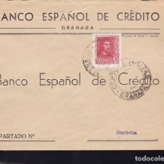 Sellos: F28-13-GUERRA CIVIL.CARTA GRANADA 1938.LOCAL Y CENSURA . Lote 174273184