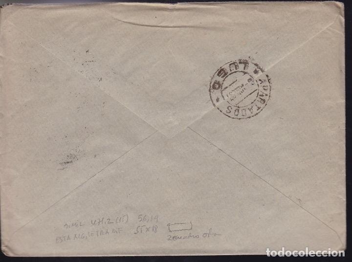 Sellos: F28-20-Guerra Civil.Carta MONDOÑEDO Lugo 1937. Local y Censura (No reseñada así) - Foto 2 - 174279720