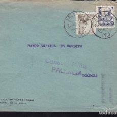 Sellos: F28-20-GUERRA CIVIL.CARTA PALENCIA 1938 . LOCAL Y CENSURA . Lote 174280093