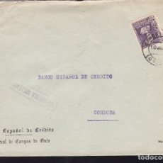 Sellos: F28-22-GUERRA CIVIL.CARTA CANGAS DE ONIS OVIEDO 1939. LOCAL Y CENSURA . Lote 174281182