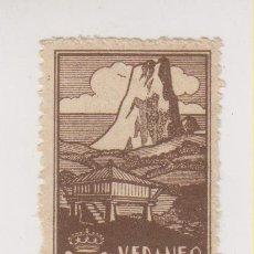 Sellos: RARO SELLO VERANEO EN ASTURIAS. Lote 175231078