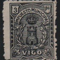 Sellos: VIGO. 3 PTAS,. -IMPUESTO MUNICIPAL-- VER FOTO. Lote 175566997