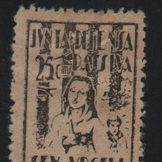 Sellos: SEO D URGELL, 25 CTS, -DEFENSA PASIVA-- VER FOTO. Lote 175569889